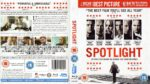 Spotlight (2015) R2 Blu-Ray Cover & Label