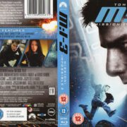 Mission Impossible III (2006) R2 Blu-Ray Cover & Label