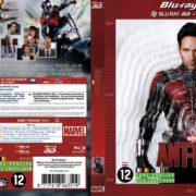 Ant-Man 3D (2015) R2 Blu-Ray Dutch Cover