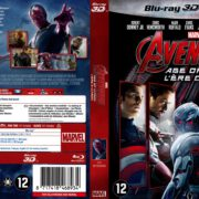 Avengers Age of Ultron 3D (2015) R2 Blu-Ray Dutch Cover