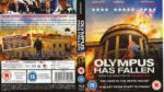 Olympus Has Fallen (2013) R2 Blu-Ray Cover & Label