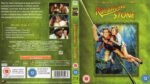Romancing the Stone (1984) R2 Blu-Ray Cover & Label