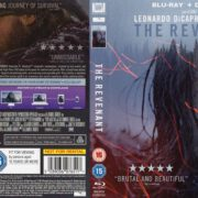 The Revenant (2015) R2 Blu-Ray Cover & Label