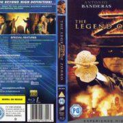 The Legend of Zorro (2005) R2 Blu-Ray Cover & Label