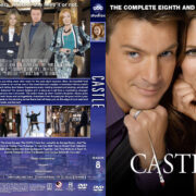 Castle – Season 8 (2016) R1 Custom Cover & Labels