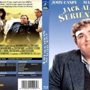 Jack allein im Serienwahn (1991) R2 German Blu-Ray Cover & Label