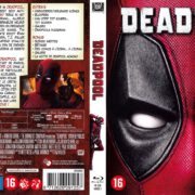 Deadpool (2016) R2 Blu-Ray Dutch Cover