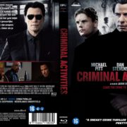 Criminal Activities (2015) R2 Blu-Ray Dutch Cover