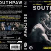 Southpaw (2015) R2 Blu-Ray Dutch Cover