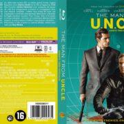 The Man from U.N.C.L.E. (2015) R2 Blu-Ray Dutch Cover