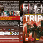 Triple 9 (2016) R2 Blu-Ray Nordic Cover