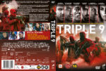 Triple 9 (2016) R2 DVD Nordic Cover