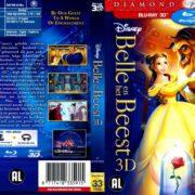 Belle en het Beest 3D (1991) R2 Blu-Ray Dutch Cover