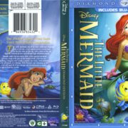 The Little Mermaid (Diamond Edition) (1989) R1 Blu-Ray Cover