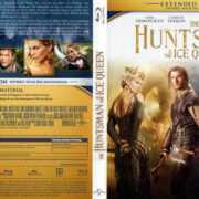 The Huntsman & The Ice Queen (2016) R2 German Blu-Ray Cover & Label