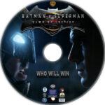 Batman v Superman: Dawn of Justice (2016) R1 Custom Label