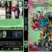 Suicide Squad (2016) R0 CUSTOM Cover & Label