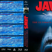 Jaws: The Ultimate Collection (1975-1987) R1 Custom Blu-Ray Cover