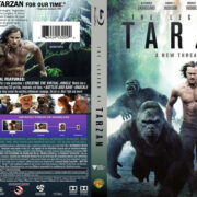 The Legend Of Tarzan (2016) R1 Blu-Ray Cover