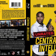 Central Intelligence (2016) R1 Blu-Ray Cover