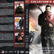 The Steven Seagal Filmography – Set 7 (2010-2015) R1 Custom Cover