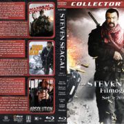 The Steven Seagal Filmography – Set 7 (2010-2015) R1 Custom Blu-Ray Cover