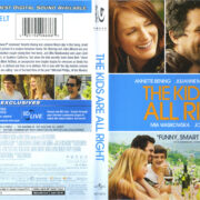The Kids Are All Right (2010) R1 Blu-Ray Cover & Label