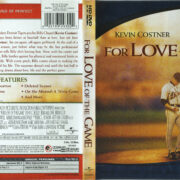 For Love Of The Game (1999) R1 HD-DVD Cover & Label