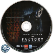 The Factory (2012) R4 DVD label