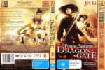 The Flying Swords Of Dragon Gate (2011) R4 Cover & label