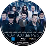 Now You See Me 2 (2016) R1 Blu-Ray Label
