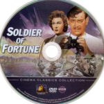 Soldier Of Fortune (1955) R1 DVD Label