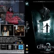 The Conjuring 2 (2016) R2 German Custom DVD Cover