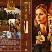 Fear The Walking Dead Season 1 (2015) R1 Custom DVD Cover