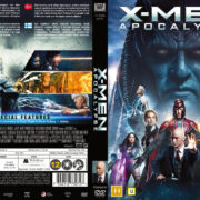 X-Men Apocalypse (2016) R2 DVD Nordic Cover