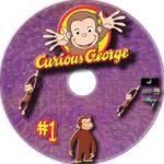 Curious George #1 (2006) R1 Custom Label