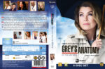 Grey's Anatomy – Season 12 (2016) R2 DVD Nordic Cover