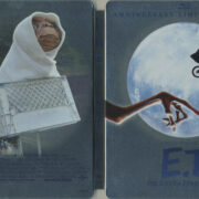 E.T. The Extra-Terrestrial Steelbook (1982) R1 Blu-Ray Cover & Labels