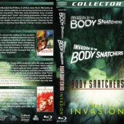 Invasion of the Body Snatchers (1956-2007) R1 Custom Blu-Ray Cover