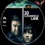 10 Cloverfield Lane (2016) R2 German Custom Label