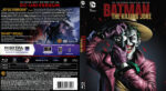 Batman The Killing Joke (2016) R2 German Custom Blu-Ray Cover & Label