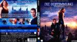 Die Bestimmung Divergent (2014) R2 German Blu-Ray Cover & Label