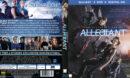 Die Bestimmung Allegiant (2016) R2 German Blu-Ray Cover & Label