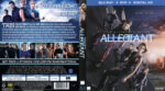 Die Bestimmung Allegiant (2016) R2 German Blu-Ray Cover & Label