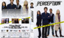 Perception Staffel 3 (2015) R2 German Custom Cover & labels