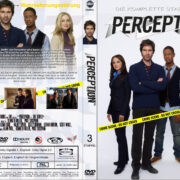 Perception Staffel 3 (2015) R2 German Custom Cover & labels