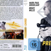 Precious Cargo (2016) R2 German Blu-Ray Cover & Label