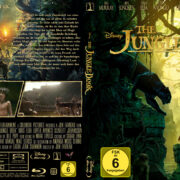 The Jungle Book (2016) R2 German Custom Blu-Ray Cover & Label