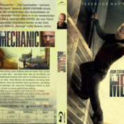 The Mechanic (2011) R2 German Custom Blu-Ray Cover & Label