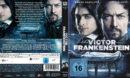 Victor Frankenstein Genie und Wahnsinn (2015) R2 German Blu-Ray Cover & Label
